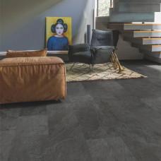 Вініл Quick Step Ambient Click Plus AMCР40035 Сланець чорний