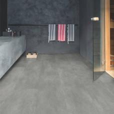 Вініл Quick Step Ambient Click Plus AMCР40051 Бетон темно-сірий