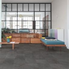 Вініл Quick Step Alpha Tiles AVST40035 Black slate
